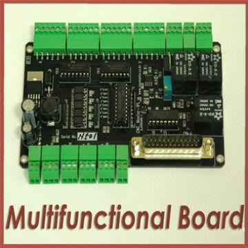 CNC interface(breakout) Board for MACH 3/ EMC 2/ DB25