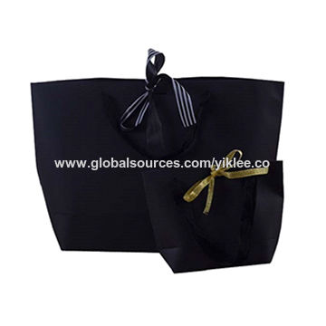 China Gift Kraft Paper Bags With Handles