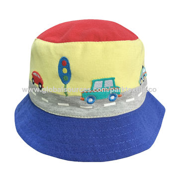 7ea3431b33f98 China Children s bucket hat made with single jersey fabric
