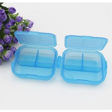 Pill Box with Custom Design, Mold Making and Injection
