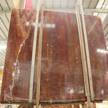 Floor Tiles Natural Stone China Red Marble Onyx Chinese