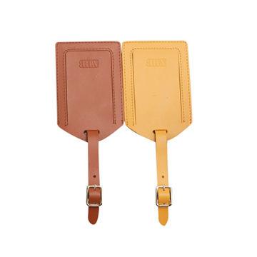 PU Leather Luggage Tag