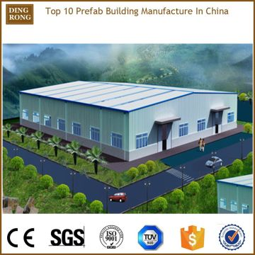 Metal Iron Canopy Shed Prefab Steel Small Factory Building Structure