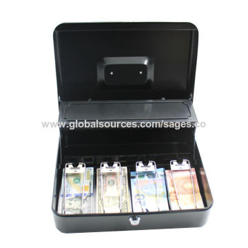 China 2018 Wholer 12 Euro Metal Cash Box For Super Market And Office