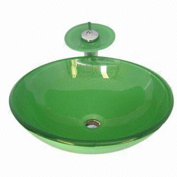 Art Ceramic Basin Bathroom Sinks Glass Sink Glass Basins Glass Bowls Mirror Global Sources