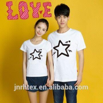Fashion Couple Love Custom Design Cotton Printed Couple T Shirt In China Global Sources