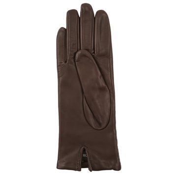 China Sheepskin leather gloves for women