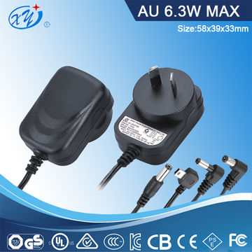AC/DC Adapters, LED driver, UL/cUL/BS/GS/EN/FCC/SAA/PSE/KC approved