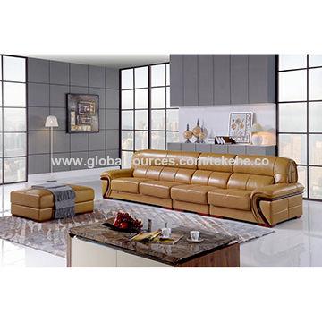 Hot selling Italian style sofa, high density foam,living ...