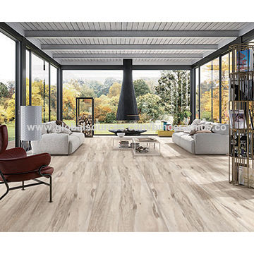 China New Design 150x900mm Rustic Wood Look Porcelain Tile On