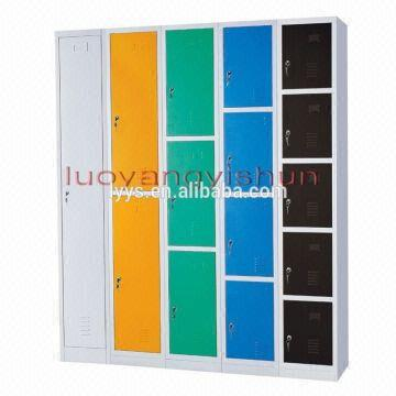 ... China Steel Godrej Colorful File Cabinets Clothing Lock