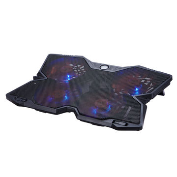 China Unique Design Adjustable Gaming Laptop Cooler Notebook Cooler Laptop Cooling Pad With 4 Led Silent F On Global Sources