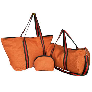 China Promotional handle bag made of linen, any size and design are available