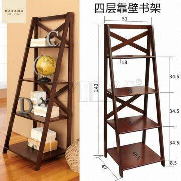 Wooden Tiered Book Display Stand China
