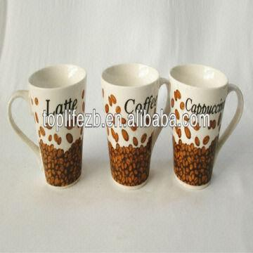 t1192 1 10oz bulk customed wholesale latte coffee mugs global sources