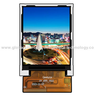 2 7-inch Mobile Phone LCD, 320 x RGB x 240 Pixels Resolution
