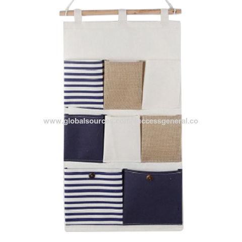 ... China 8 Pocket Hanging Storage Bag Organizers