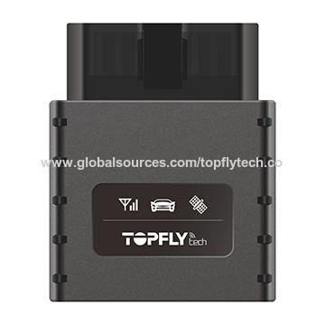 VEHICLE GPS TRACKER 4G Tracking Device OBD II Plug Battery backup ! GPS TRACKER