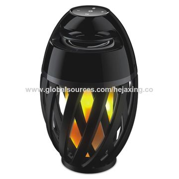 China 2017 Newest Outdoor Waterproof Flame Atmosphere Lamp Bluetooth(BT) Speaker,Stereo Sound,Party Light