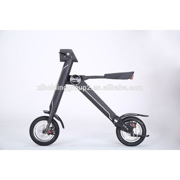 China Electric Folding Scooter Bike Foldable Hwcwl15001