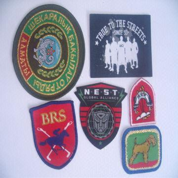 embroidered patches woven labels woven patches woven puller