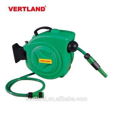 china hose reel for garden automatici auto rewind auto rollup retractable garden water