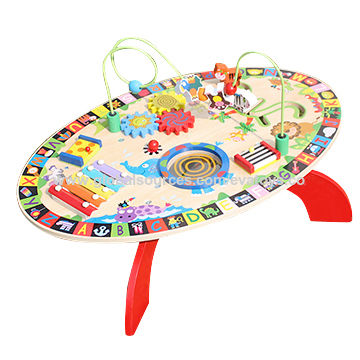 Wooden Toddler Activity Table China Wooden Toddler Activity Table