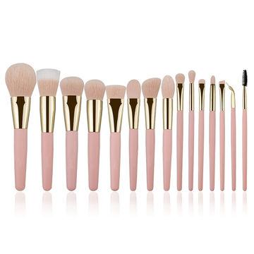China 15pcs Pink Makeup Brush Set