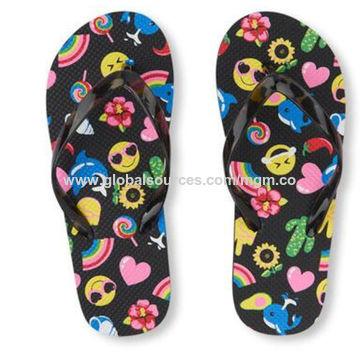 2e3576a5b108 China Flamingo printed women flip flops from Fuzhou Trading Company ...