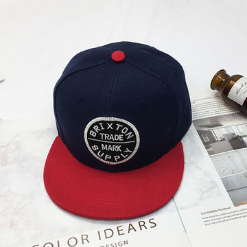 e45ee26bd456c ... China 6-panel Snapback Cap with Customized Flat Embroidery Patch Logo  for Wholesale ...