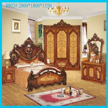 China New Model Of Classic Luxury Antique Furniture,queen Bedroom Furniture  Sets For Sale