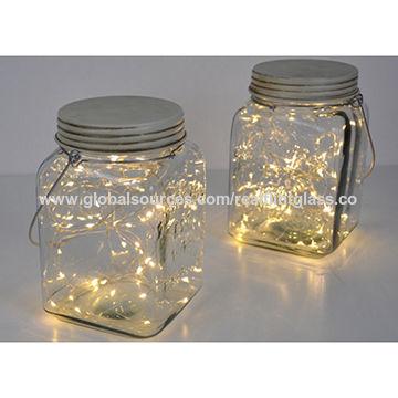 China Decorative Glass Jars From Xuzhou Manufacturer Real Inspiration Decorative Glass Storage Jars