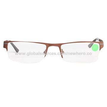 d04199aa0a44 Men s stainless steel semi optical frames China Men s stainless steel semi optical  frames