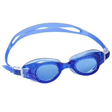 a1ad11baaad China Adult UV anti fog swimming goggles one piece PVC goggles for ...