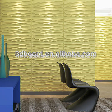 Indoor material 3D decoration hardboard wall panel, eco-friendly ...
