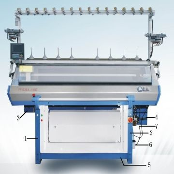 Sweater Computerized Jacquard Flat Knitting Machine Global Sources