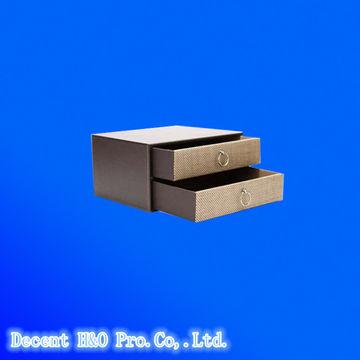 ... China DIY PU 2-tier A4 Rectangle Drawer Storage Box  sc 1 st  Global Sources & DIY PU 2-tier A4 Rectangle Drawer Storage Box | Global Sources