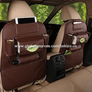 PU Leather Car Backseat Organizer China