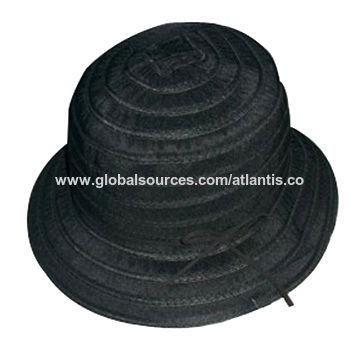e75b7f24 China Foldable small travel wide folding sun straw hat with customized logo  brim ...