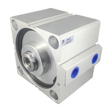 Aluminum Alloy Air Cylinder Corrosion Resistance for Home Use Industry Use Double Acting Thin Air Cylinder