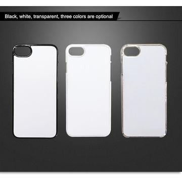 Blank Sublimation 2D Plastic PC Phone Case with Aluminum