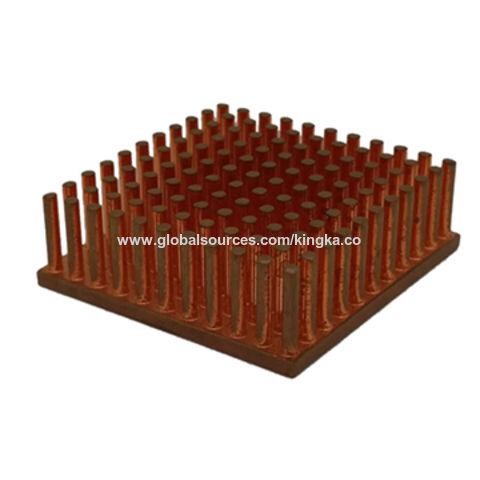 China custom copper pipe heat sink from Dongguan Manufacturer ...