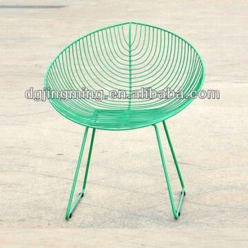 China Kd Wire Mesh Outdoor Chair