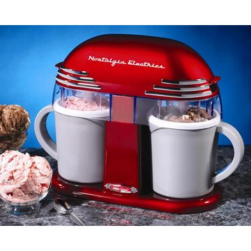 china nostalgia electrics mini size ice cream machine for home use ice maker for home