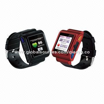 pulse watch phones heart rate monitor gps sos bluetooth sim gsm