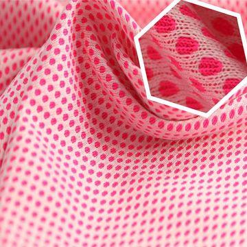 Taiwan Quick Dry Fabric, Nylon and Polyester 2 Tone Birdeyes Interlock