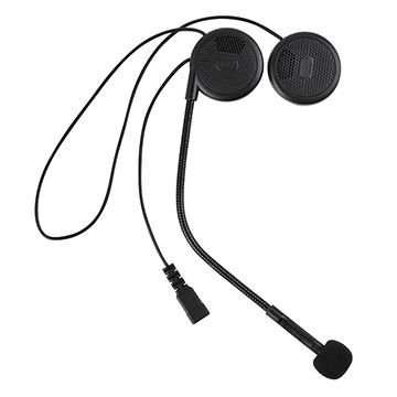 Helmet Bluetooth Headset Supports Handsfree Calling Stereo Music Gps Navigation Global Sources