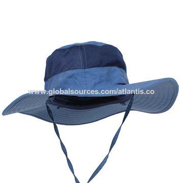 China Outdoor fishing hiking hunting boating snap brim bucket hat on ... ebdfed646291