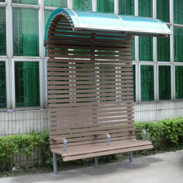 Fantastic Park Bench With Awning Rot Resistant Waterproof Anti Andrewgaddart Wooden Chair Designs For Living Room Andrewgaddartcom