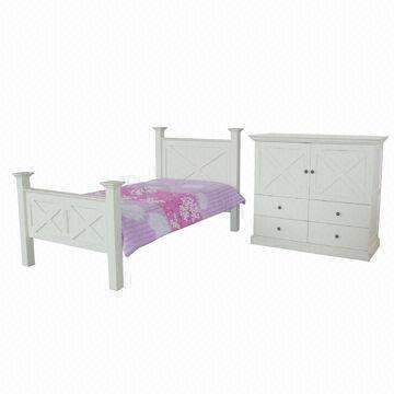 Remy Solid Pine Bedroom Furniture in TJC/White/Coco/Walnut ...